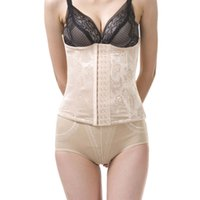 best postpartum belt - Best seller Jacquard Rows Buckle Corset Waist Band Breathable Postpartum Abdomen Belt May