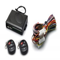 Wholesale New Way Car Vehicle Burglar Alarm Security Protection System Remote Control Auto Security Alarm System