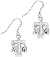 Cheap 50 Pairs lot Hook Drop Earrings With ATM Message Sports Team Logo Zinc Alloy Plated Jewelry (E102474)