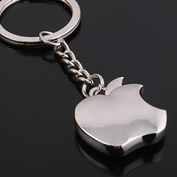 Wholesale Creative Products Apple Keychain Apple Novelty key Promotional Keychain With Free Gifts Car key ring For Christmas