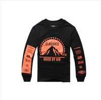 ap clothing - Hood By Air HBA Trill Ap A Rocky ASAP Mens clothing Pyrex Vision kanye west hiphop mens long sleeve t shirt