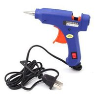 Wholesale Hot Selling Portable mini Glue Gun Hot Melt W Electric Heating Sticks Trigger Art Craft Repair Tool With Low Price