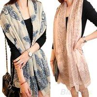 Wholesale 2013 Brand New Winter Women s fashion long big wraps scarf soft hot new autumn scarves shawl EV