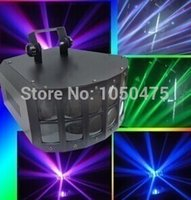 Wholesale LED stage light voice control lamp LED double butterfly light Colorful LED stage lighting lamps and lanterns of bar