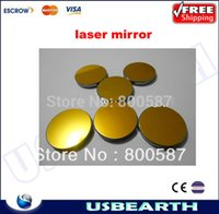 Wholesale Freeshipping mm CO2 Laser Mirror Laser Reflector K9 silicon glass for Laser Engraver Cutting Machine