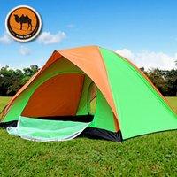 Wholesale Fedex Free Person Tourist Waterproof Camping Tent Outdoor Double Door Hiking Beach