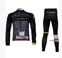 livestrong - garment pants black tenacious life Livestrong long sleeve cycling suits