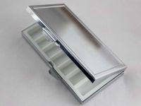 Cheap 2PCS platinum Metal Pill boxes DIY Medicine Organizer Container Medicine Case Free Shipping PI00208