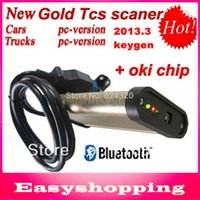 Wholesale Newest tcs cdp pro plus with keygen in CD free activate with bluetooth m6636b oki chip for Cars Trucks in1 CN freeshipping