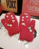 Wholesale 2014 New Women Korean Gloves Wool Gloves Winter Gloves
