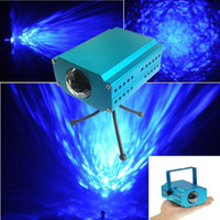 Wholesale LED water wave effect light projector Water Wave Effect LED Light Projector Stage Lighting Lamp For Wedding Party KTV