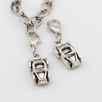 antique convertible cars - Hot Antique Silver Alloy Car Automobile Convertible Charms Bead with Lobster clasp Fit Charm Bracelet x mm DIY Jewelry