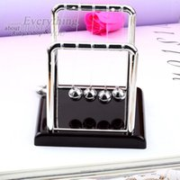 Wholesale New Arrival Physic Cradle Steel Balance Ball School teaching Science Desk toys Educational Supplies