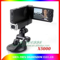 angle class - 2 quot Dual Cameras Car DVR X5000 Degree A Class and Ultra wide angle Lens Car Video Recorder