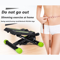 Wholesale Leg slimming body building device multi function treadmills Physical fitness equipment for female swing waist tummy tuck Buttock lift