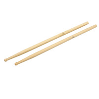 Wholesale 7A Drum Sticks Top Grade Maple Wood Sticks Exquisite Workmanship Smoothly Polished Durable Sturdy Drum Sticks I1070