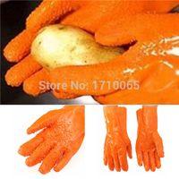 Wholesale 2015 New Hot Sale Kitchen Gloves Potato peeling Vegetables Tater Peeler Easy Fish Scales Peel Waterproof Cooking Tools