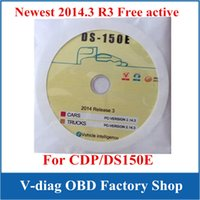 Software For BMW Software V2013.R3  100% New version Delphi DS150 DS150E Software ( 2014.3 R3 ) without Activtor Keygen on CD Disk DVD For TCS cdp pro plus Free active