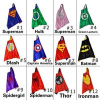 superhero capes - kids superman cape superhero cape children boy costume for children halloween party costumes children captain costume capes cloak