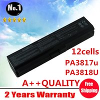 toshiba laptop - New cells Laptop battery For Toshiba Satellite L750 L755 L775 SERIES PA3818u PA3819u PA3817U BRS