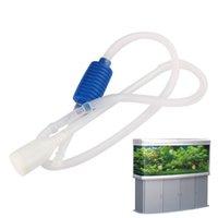 aquarium gravel white - 2015 New Amazing Coming Aquarium Siphon Gravel Cleaner Fish Safe Tank Vacuum Change Water Pump