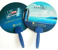 advertise fashion - 1000pcs Fashion plastic advertising hand fan gift fan