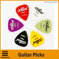 Wholesale Alice mm mm mm mm mm mm ABS Portable Guitar Picks Guitar Bass Plectrums
