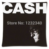 american iv - American IV The Man Comes Johnny Cash Around Style throw Pillowcase Custom18x18 Inch Twin Sides Home Car Cushion Cover