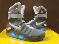 Wholesale Nike Marty McFly Mag Back To The Future Men s Basketball Shoes Trainers Air Mag Limited Edition With LED