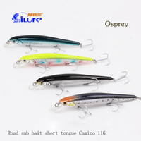 artificial bait for bass - Ilure minnow bait g mm cm lures for bass fishing colorful bait artificial best quality trout VMC hooks lure fishing bionic bait