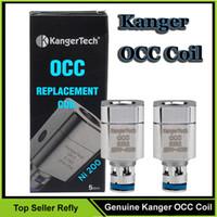 Blister kit 10 Colors 1.5ML Replaceable 100% Authentic Kanger OCC Coil Ni200 0.15ohm Coils For Kangertech Subtank Mini Nano Plus V2 Electronic Cigarette Atomizers
