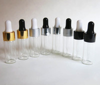 Wholesale DHL NEW ml empty glass essential oil dropper bottle oz glass dropper bottle other sizes are available