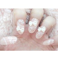 Wholesale New Fashion acrylic nail display White False Tips fake nail tools False French Nail Art Tips Acrylic Makeup