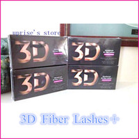 Wholesale HOT selling Moodstruck D FIBER LASHES mascara Set Makeup lash eyelash double mascara set