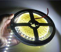 SMD 2835 LED Tira de la No-prenda Impermeable de 12V LED de la Luz de Casa Coche Luminaria Luz de la Cinta de Lámparas 60/120 Leds/m de las Luces LED Blanco Cálido/Blanco 5m/Rollo de 1 juego