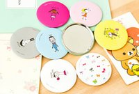 Wholesale girl Makeup small mirror fashion tiny mirrors XQ B01