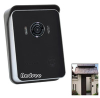 Wholesale Best Christmas Gift Smart Wifi IP Doorbell visuable on phone for answer snapshot and record AS WD01