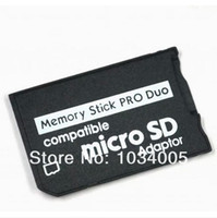 Livraison gratuite Micro SD TF à Memory Stick MS Pro Duo Adapter