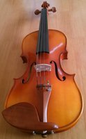 Wholesale Hand Craft Violin Size Jujuba Wood Violin with Maple wood Back and Side for Beginner