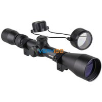 Wholesale New x Tactical Rifle Optics Sniper Scope Reviews Sight Hunting Scopes Black order lt no track