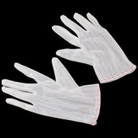 Wholesale 5 X Anti static Anti skid Gloves ESD PC Computer Working Working Gloves