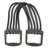 Wholesale Portable Indoor sports Supply Chest Expander Puller Exercise Fitness Resistance Cable Rope Tube Yoga Resistance Bands Exercise