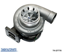Wholesale TANSKY T78 T4 twin scroll turbo charger V band For Racing car Horsepower HP With gaskets TK GTT78