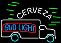 available trucks - Revolutionary Neon Super Bright Bud Light Cerveza Truck Neon Beer Signs19 quot x15 quot Available multiple Sizes