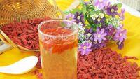 al por mayor shipping goji tea-ningxia bayas goji wolfberry 250g frutos secos goji té baya goji orgánicos naturales de salud y belleza de adelgazamiento para el envío libre $ tra 18Nadie