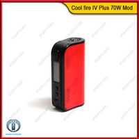 Wholesale Original Innokin Coolfire IV Plus W Box Mod Built In mAh Battery Cool Fire Plus Ecigarette Mod