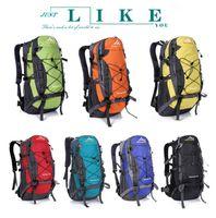 backpack internal - Good Mens L Hiking Backpack Professional Waterproof Rucksack Internal Frame Climbing Camping Travel Outdoor Mountaineering Bag