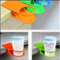 Wholesale In Stock Table Glass Water Cups Clip Drinklip Cup Holder Glass Holder Mug Office Tumblerful Glass Clamp