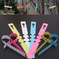 Wholesale 100pcs Garden PVC Plant Tags Waterproof Reusable Tags Nursery Garden Seed Stake Plant Potting Labels CM Multicolor Optional