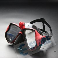 diving equipment - Underwater Diving Masks for Gopro hero Camera Three Color Choice Diving Glasses Adult Diving Snorkeling Equipment
